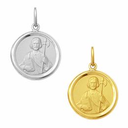 Medalha em Ouro de São Judas Tadeu - Redonda