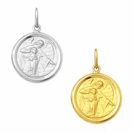 Medalha em Ouro do Anjo da Guarda - Redonda