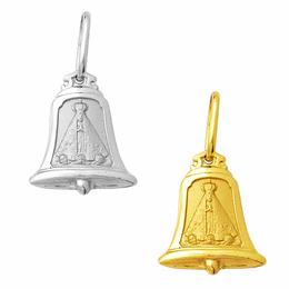 Medalha de Nossa Senhora Aparecida em Ouro - Sino