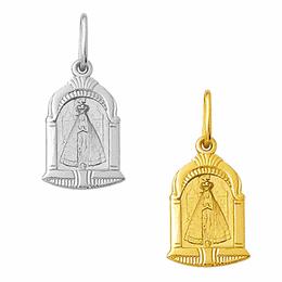 Medalha de Nossa Senhora Aparecida em Ouro - Capela