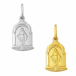Medalha em Ouro de Nossa Senhora das Graças - Capela