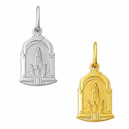 Medalha em Ouro de Nossa Senhora de Fátima - Capela