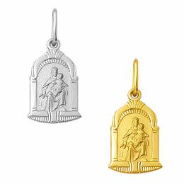 Medalha em Ouro de Nossa Senhora do Carmo - Capela