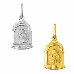 Medalha em Ouro de Santa Rita - Capela