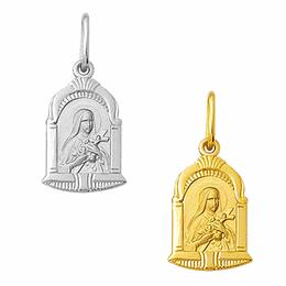 Medalha em Ouro de Santa Teresinha - Capela