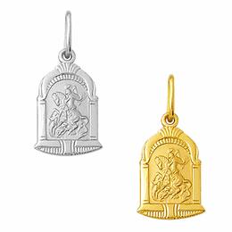 Medalha em Ouro de São Jorge - Capela