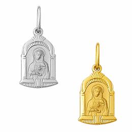 Medalha em Ouro do Imaculado Coração de Maria - Capela