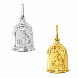 Medalha em Ouro do Sagrado Coração de Jesus - Capela
