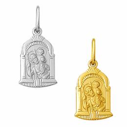 Medalha de São Cristóvão em Ouro - Capela