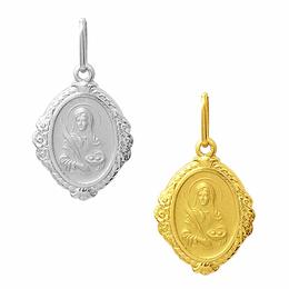 Medalha em Ouro de Santa Luzia - Losango