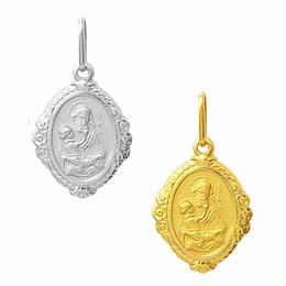 Medalha em Ouro de São José - Losango