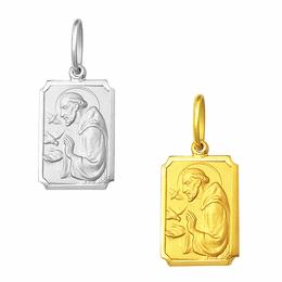 Medalha de São Francisco em Ouro - Retangular