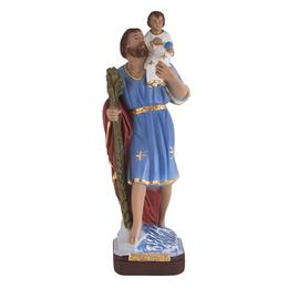Imagem de São Cristóvão em Gesso ou Resina de 30cm