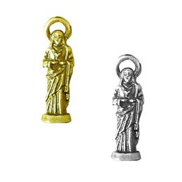 Imagem de bolso Sagrado Coração de Jesus - Metal - 2,5cm