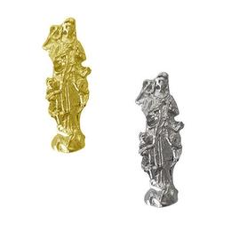 Imagem de bolso Nossa Senhora Desatadora dos Nós - Metal - 2,6cm