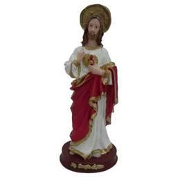 Sagrado Coração de Jesus - Resina - 14,7cm