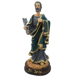 Imagem de São Pedro em Resina de 15cm