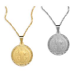 Medalha de São Bento Folheada - 23mm
