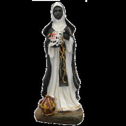 Imagem de Santa Efigênia em Resina de 14cm