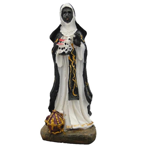 Imagem de Santa Efigênia em Resina de 8cm