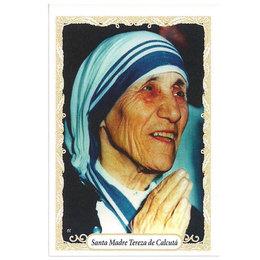 Santa Madre Teresa de Calcutá - Pacote c/100 Santinhos de Papel