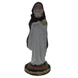 Santa Edwiges - Resina - 7,8cm
