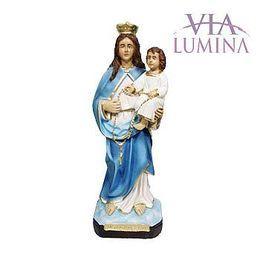 Nossa Senhora do Rosário - Gesso ou Resina - 20cm