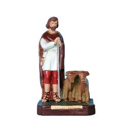 Santo Isidoro Lavrador - Gesso ou Resina - 20cm