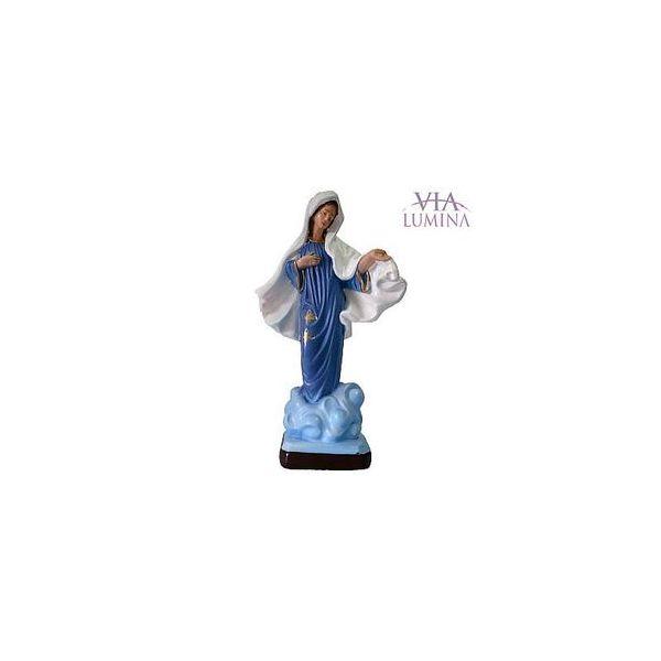 Nossa Senhora Rainha da Paz - Gesso ou Resina - 25cm