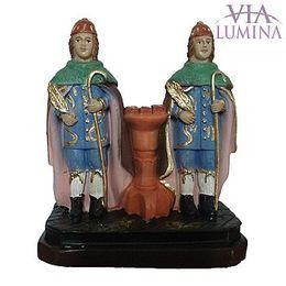 São Cosme e Damião - Gesso - 12cm