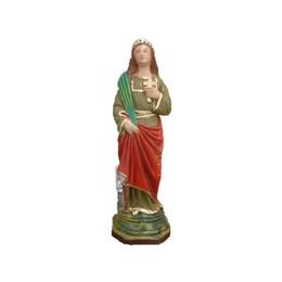 Santa Catarina - Gesso ou Resina - 20cm
