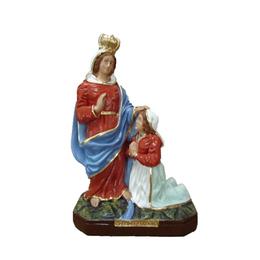 Nossa Senhora Caravaggio - Gesso ou Resina - 20cm