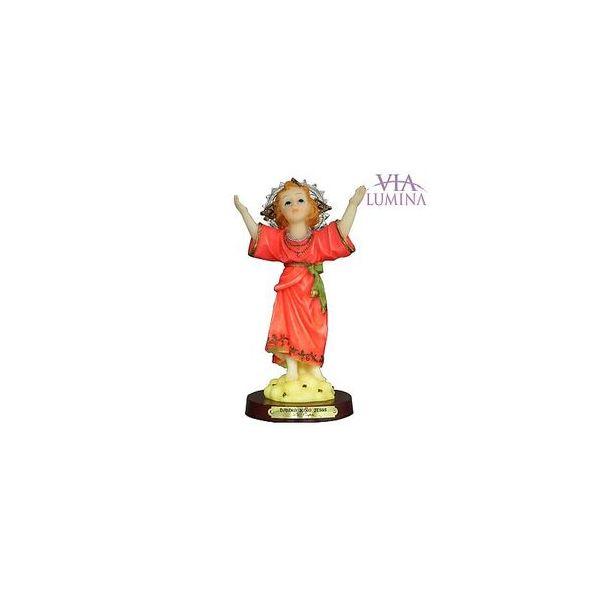 Imagem do Divino Menino Jesus em Resina de 13cm