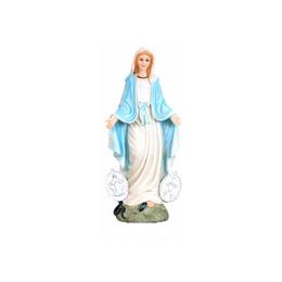 Imagem de Nossa Senhora das Graças (Medalha Milagrosa) em Resina de 8cm