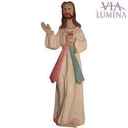 Imagem de Jesus Misericordioso em Resina de 8cm