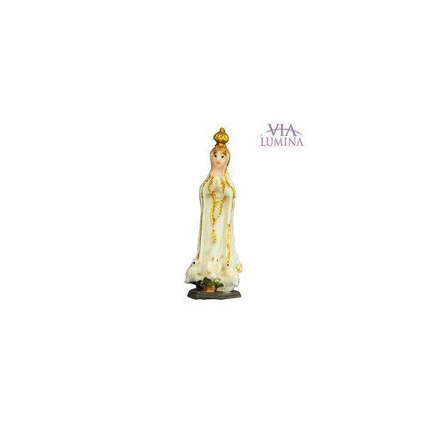 Imagem de Nossa Senhora de Fátima em Resina de 5cm