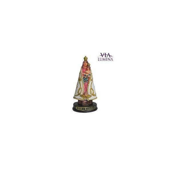 Imagem de Nossa Senhora de Nazaré em Resina de 9cm