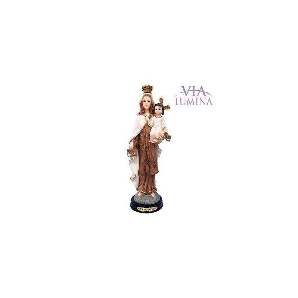 Imagem de Nossa Senhora do Carmo em Resina de 29cm