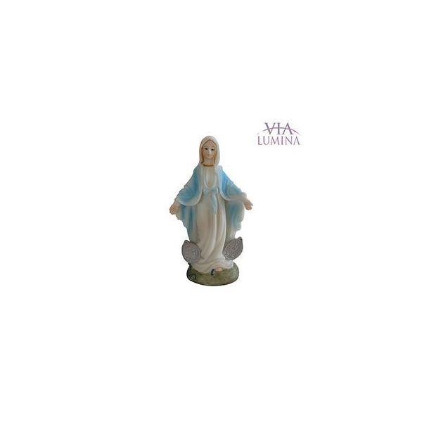 Imagem de Nossa Senhora das Graças (Medalha Milagrosa) em Resina de 5cm