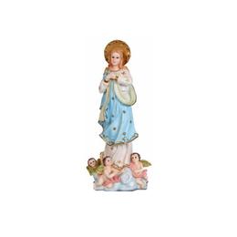 Nossa Senhora Imaculada Conceição - Resina - 8cm