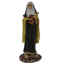 Imagem de Santa Terezinha em Resina de 7,5cm