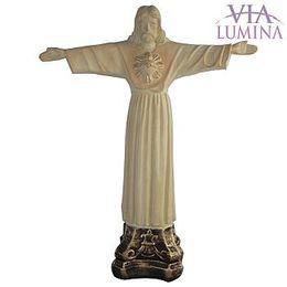 Cristo Redentor - Gesso - 28cm