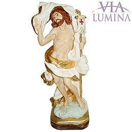 Jesus Ressuscitado - Gesso - 30cm