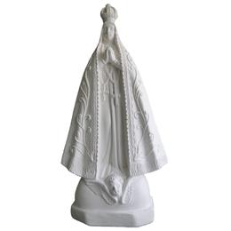 Nossa Senhora Aparecida - Gesso Branco - 41cm