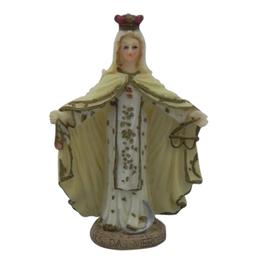Nossa Senhora das Mercês - Resina - 7,8cm