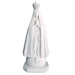 Nossa Senhora Aparecida - Gesso Branco - 60cm