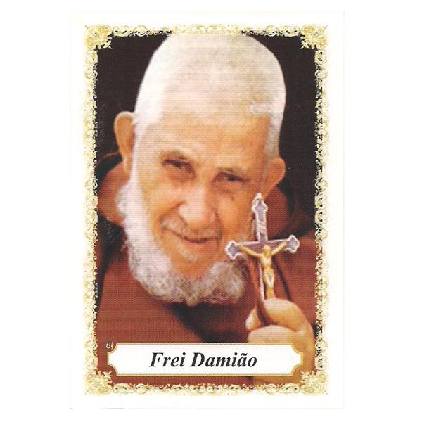 Frei Damião - Pacote c/ 100 Santinhos de Papel