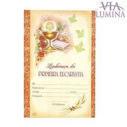Certificado de Primeira Eucaristia