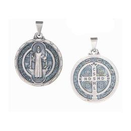 Medalha de São Bento - Prata Velha