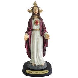 Sagrado Coração de Jesus - Resina - 23cm